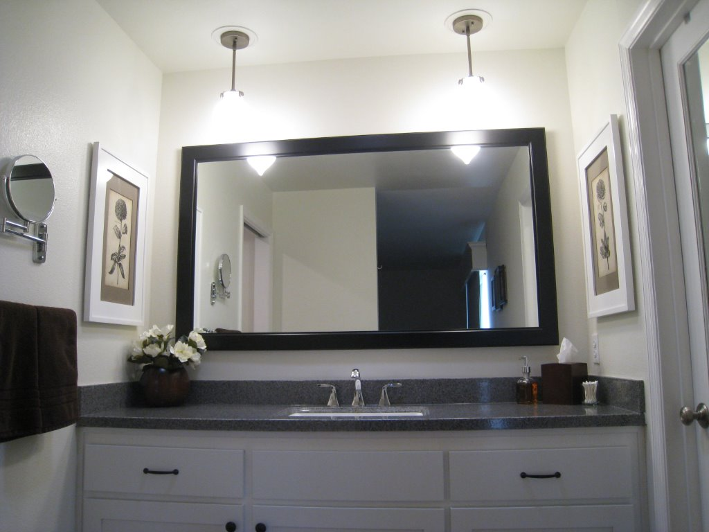 Customer Photos | Testimonial reviews for the worldu0027s only recessed medicine cabinet with a picture frame door and no mirror! & Customer Photos | Testimonial reviews for the worldu0027s only recessed ...